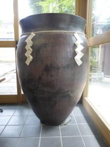 松尾大社の酒壺